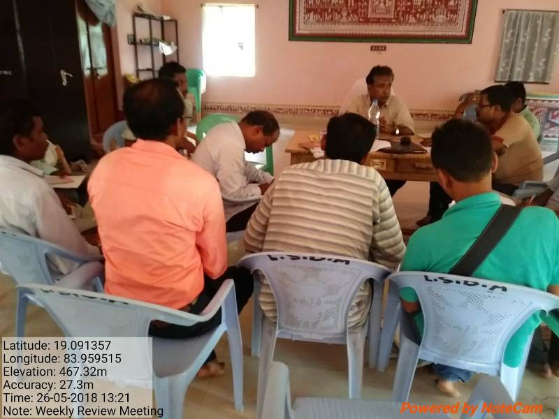 Weekly review meeting of LSDA Puttasing under the chairmanship of Special Officer 01.jpe