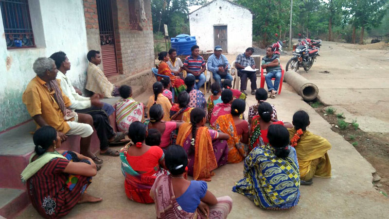 Village level Meeting held at Fatamunda village of  Chanchadaguda GP for selection of Entry point activities in consulation with the Villagers VDC members DKDA Chatikona-03.jpe